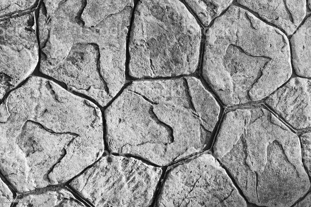Texture of stone paving stock photo