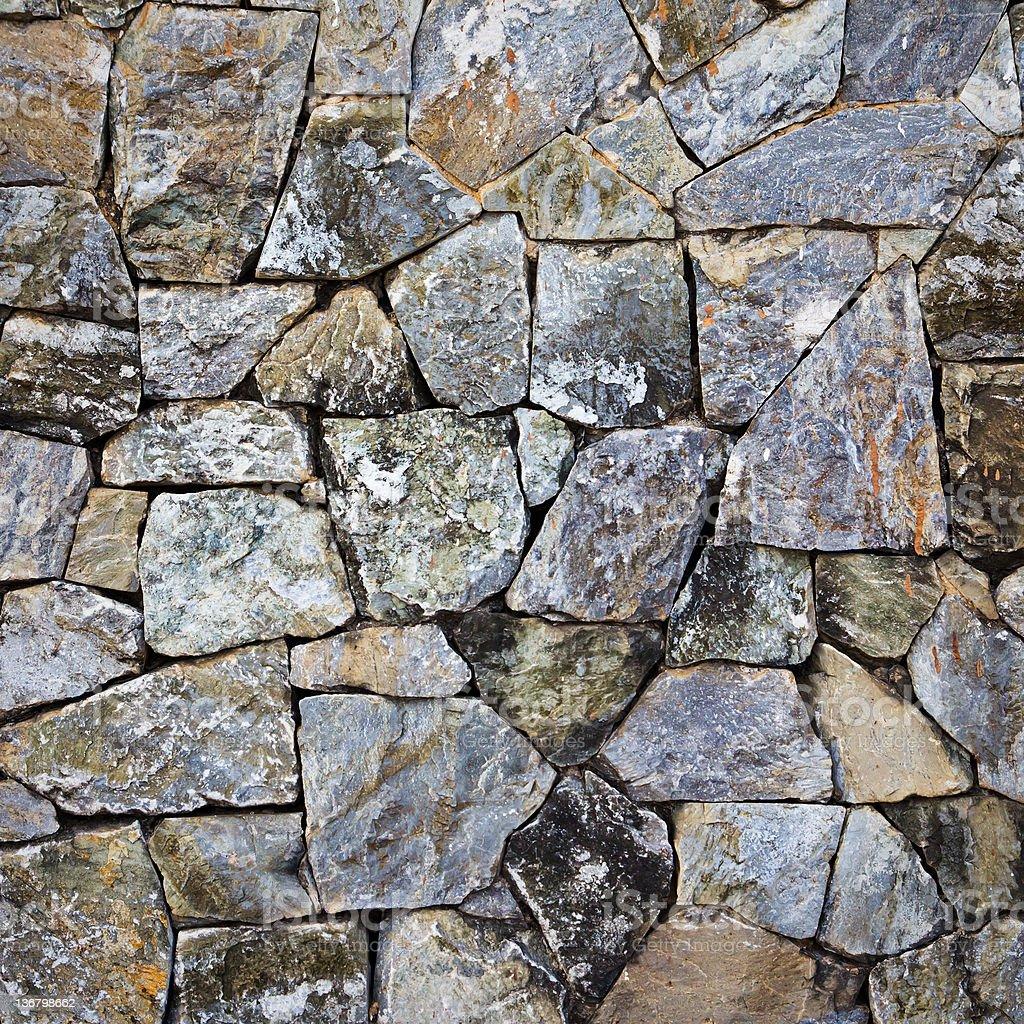 Trama di sfondo del Muro di pietra foto stock royalty-free