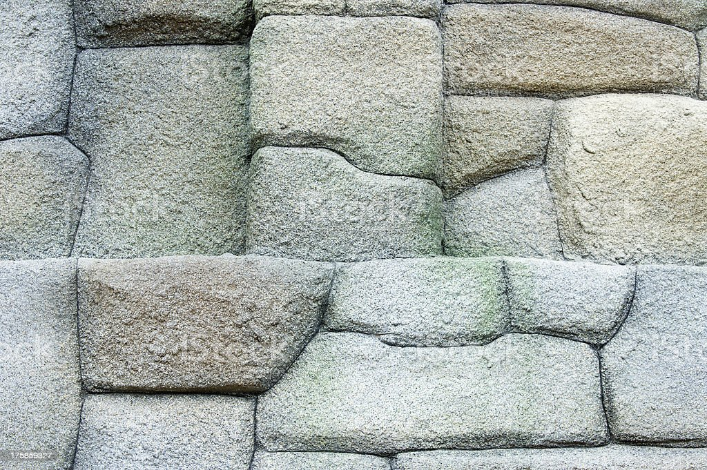 Texture of stone wall royalty-free stock photo