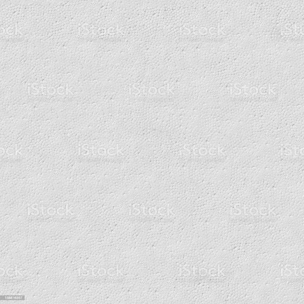 Texture of Surface White Polyfoam. royalty-free stock photo