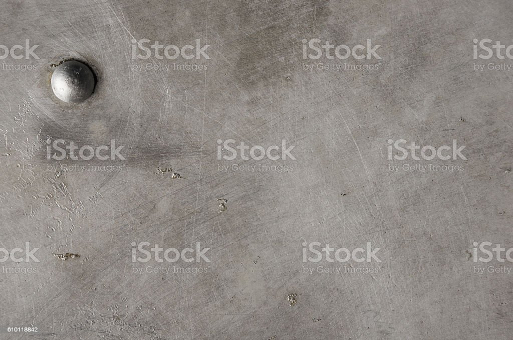 texture of the old aluminum surface stock photo