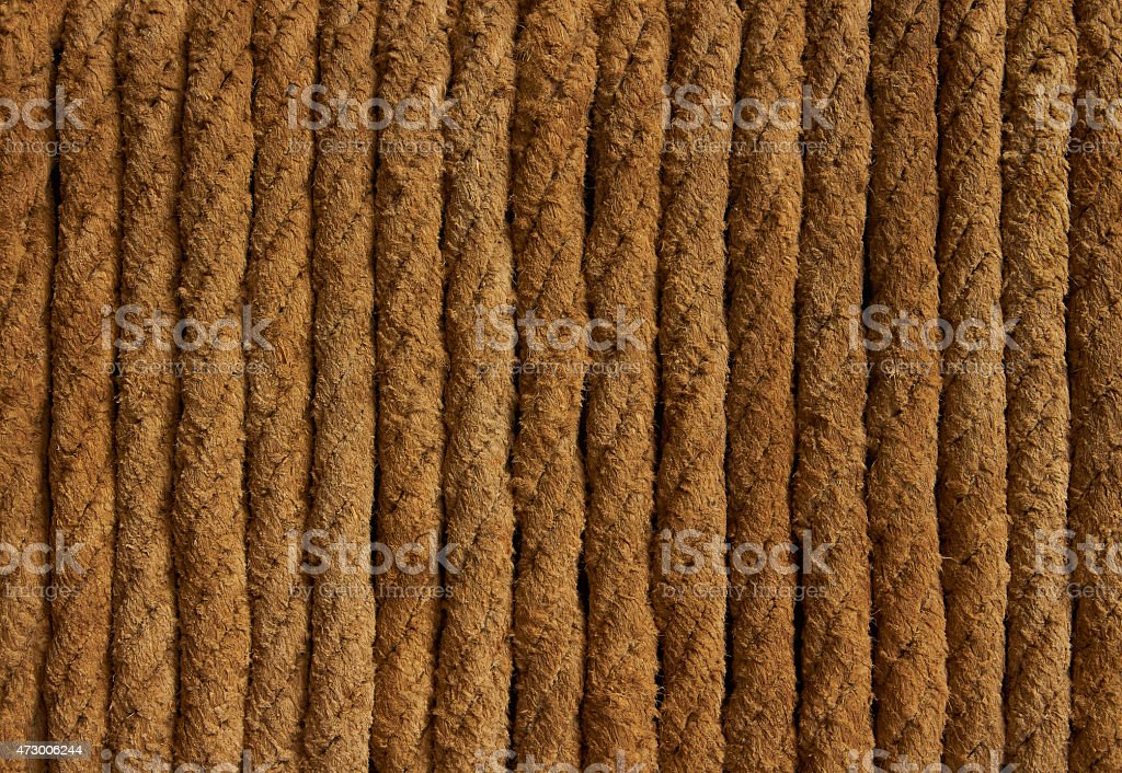texture of the ropes royalty-free stock photo
