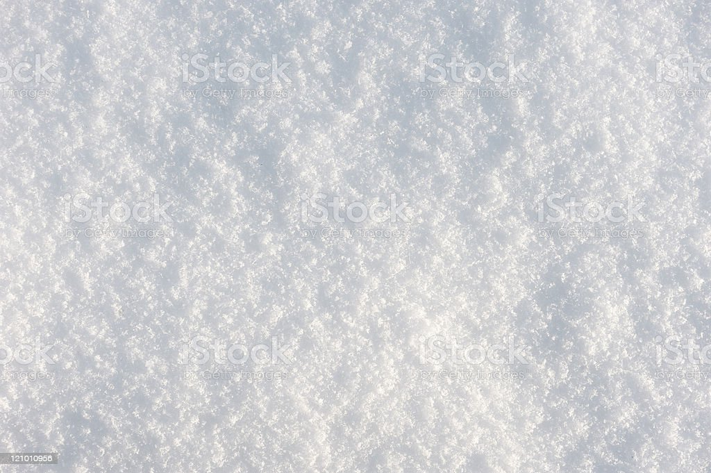 Texture of the snow royalty-free stock photo