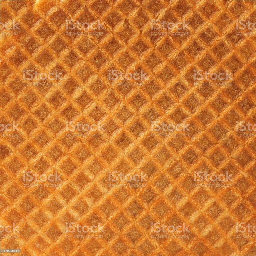 texture of Waffle stock photo