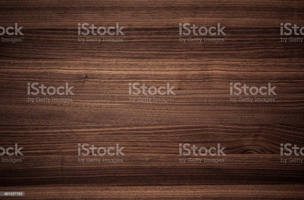 texture of Walnut wood stock photo