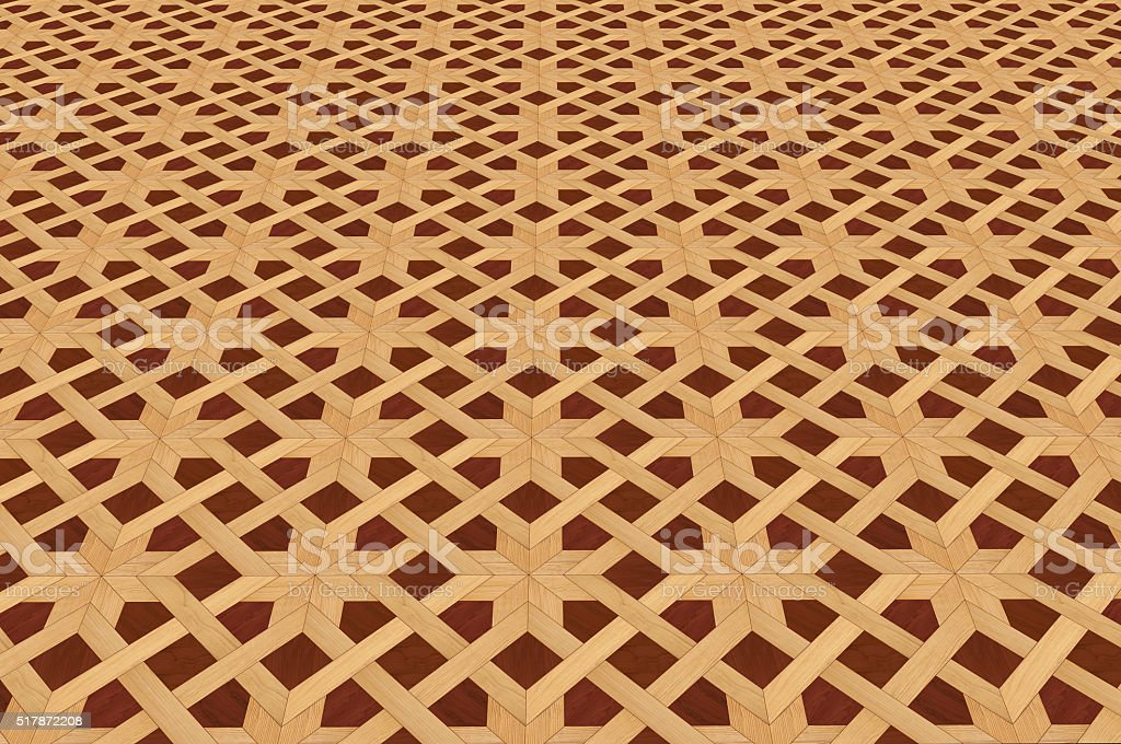 Texture of wooden floor. stock photo