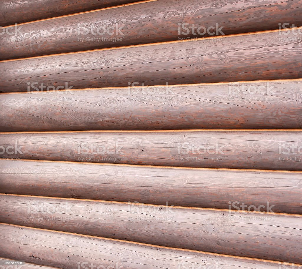 Texture of wooden log stock photo