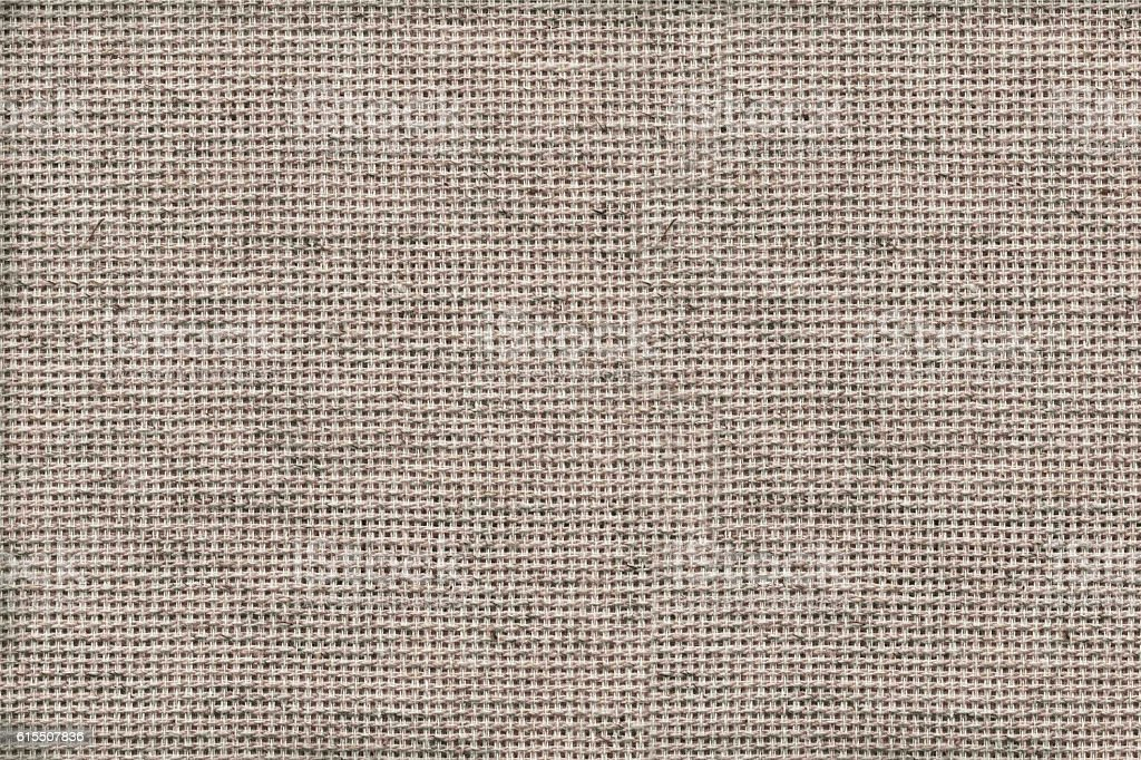 Texture of woven fabric. Gray blanket. stock photo