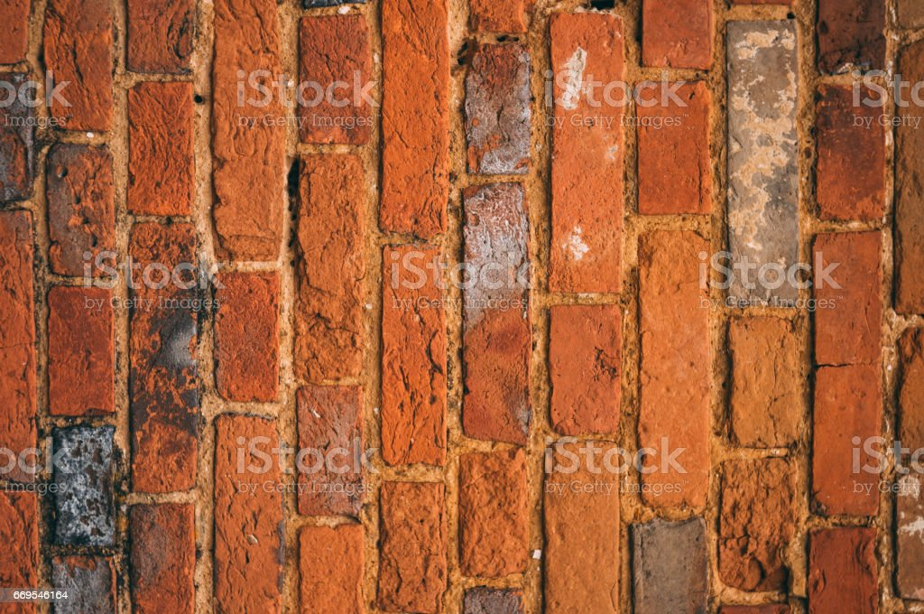 Texture old brick wall stock photo