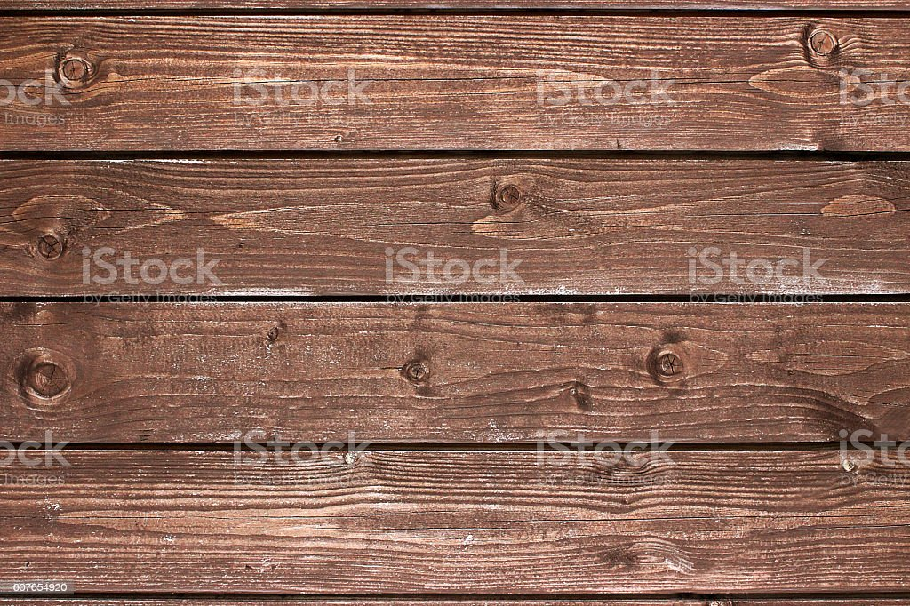 Texture old wooden planks of a floor stock photo