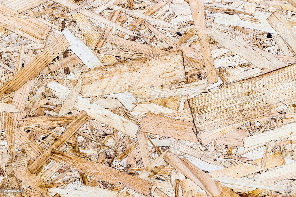 Texture OSB panels stock photo