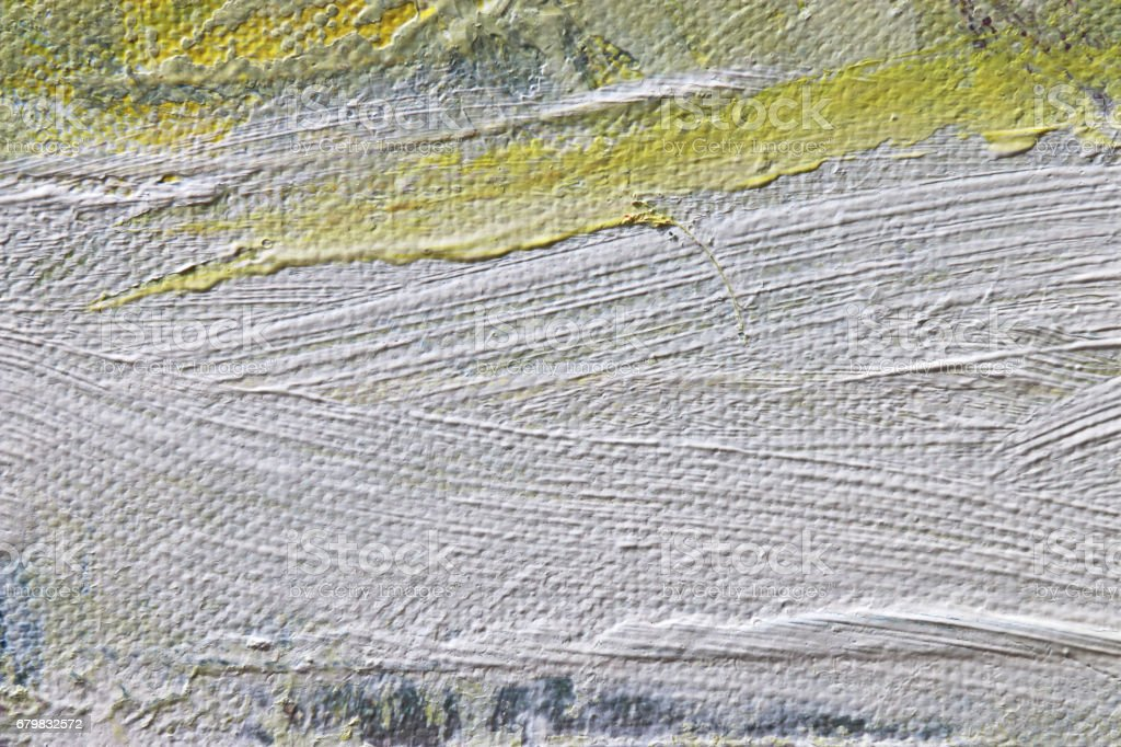 Texture painting. Abstract art background. Acrylic on canvas. Rough...