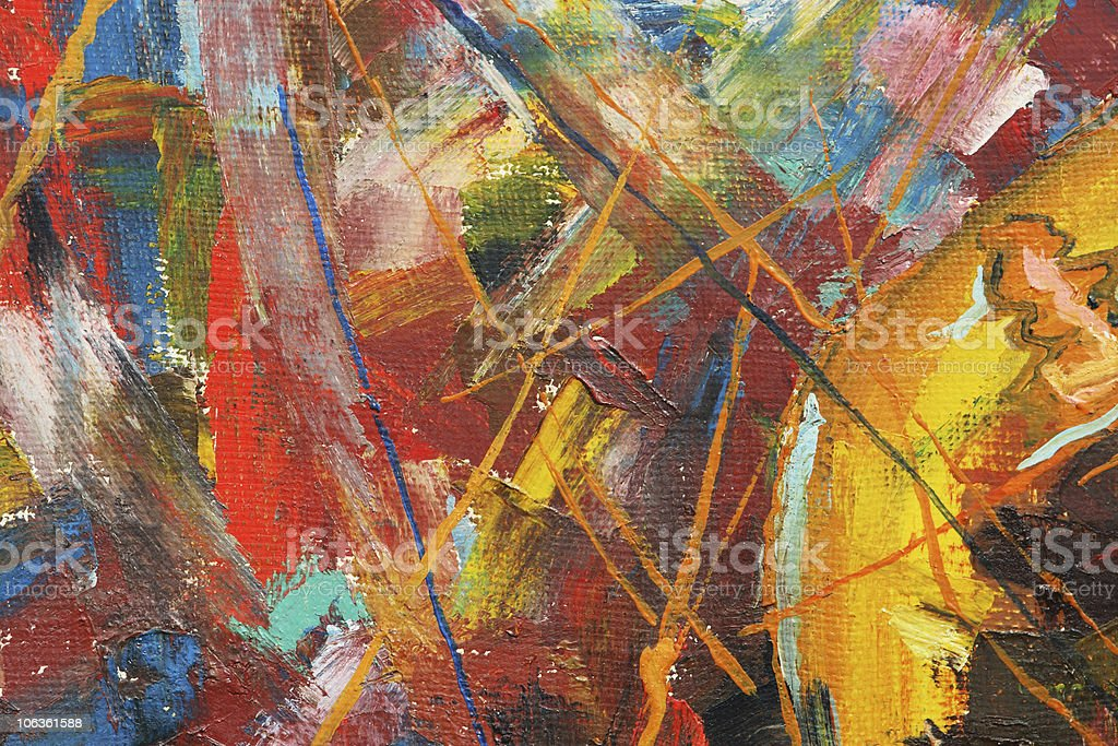 texture painting with paints stock photo