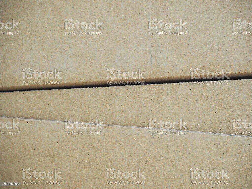 Texture paper of carton stock photo