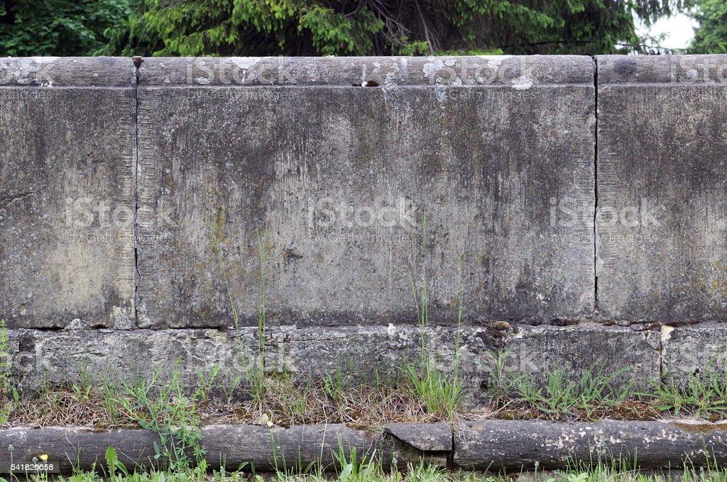 texture railing in Gatchina. stock photo