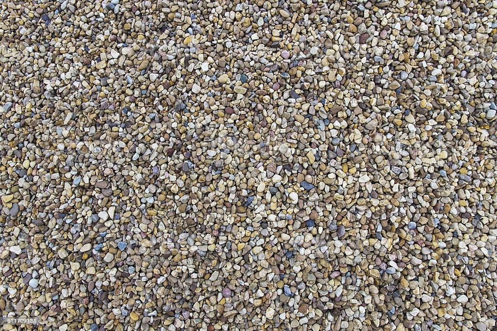 Texture River Gravel - Textura de Grava de de Rio stock photo