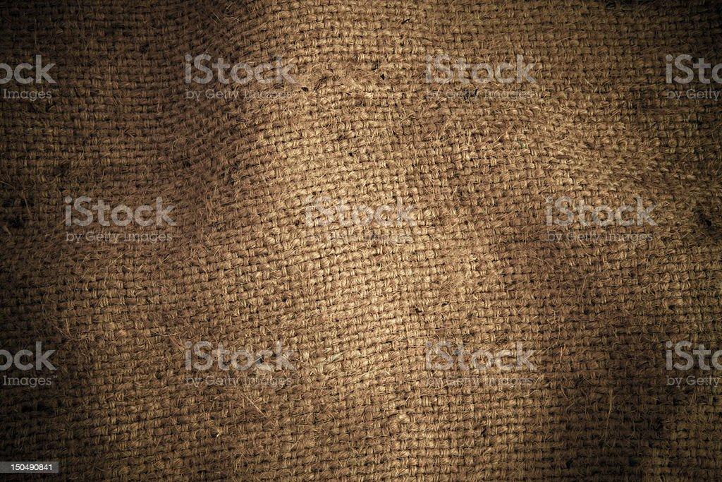 Texture sack royalty-free stock photo
