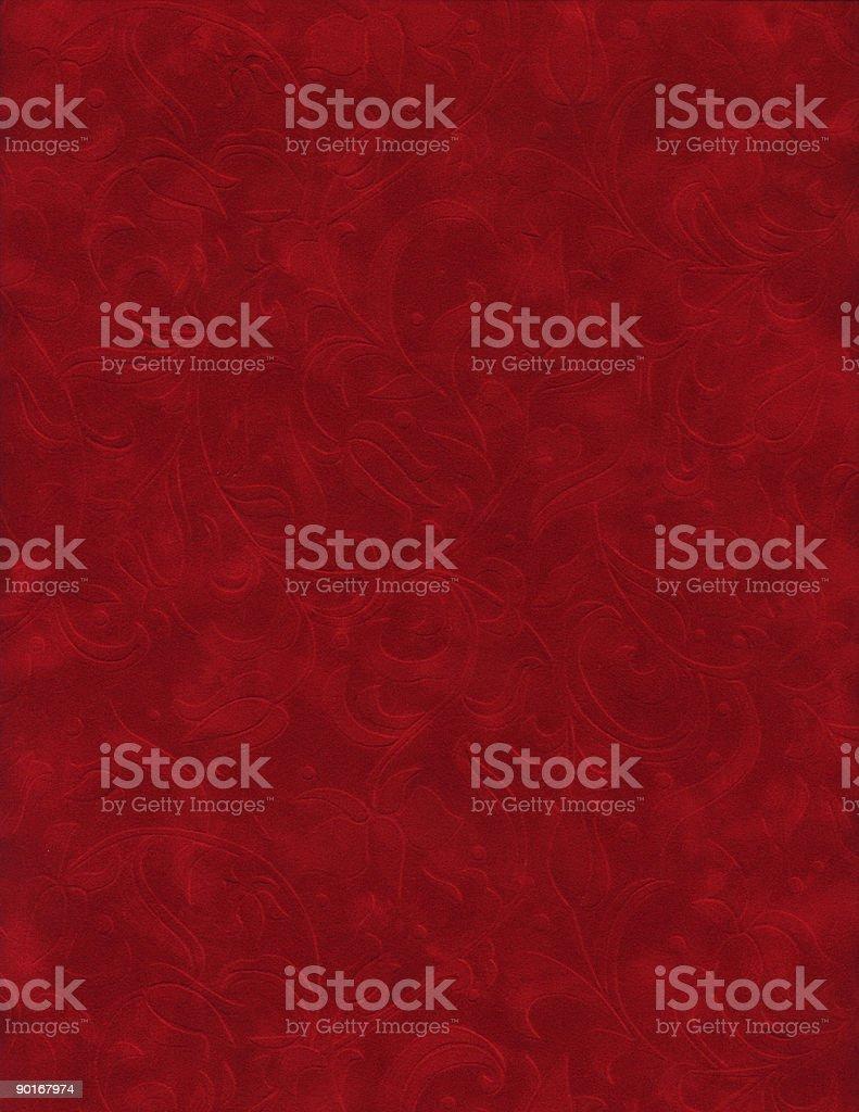 Texture Series - Red Velvet stock photo