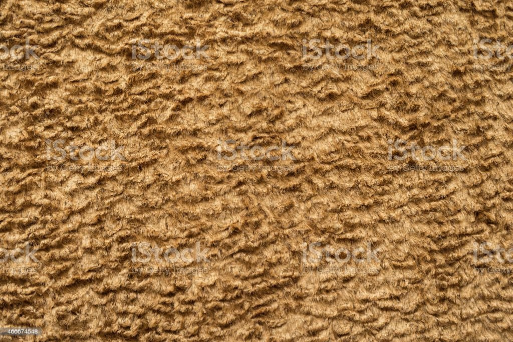 texture short-haired fur fabric of sand color stock photo