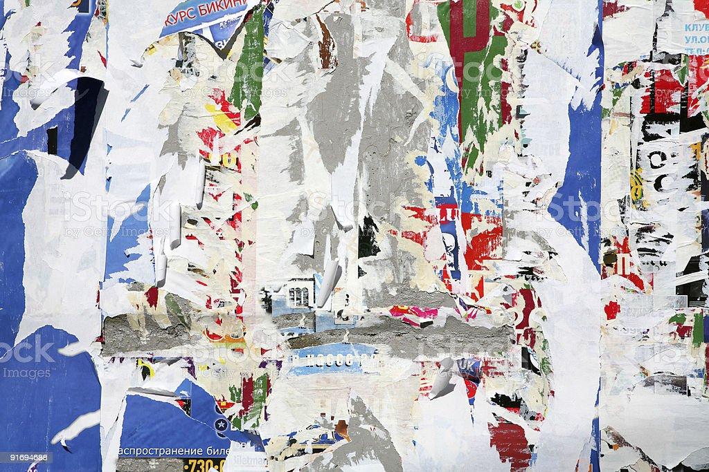 Texture, Varicoloured Wall royalty-free stock photo