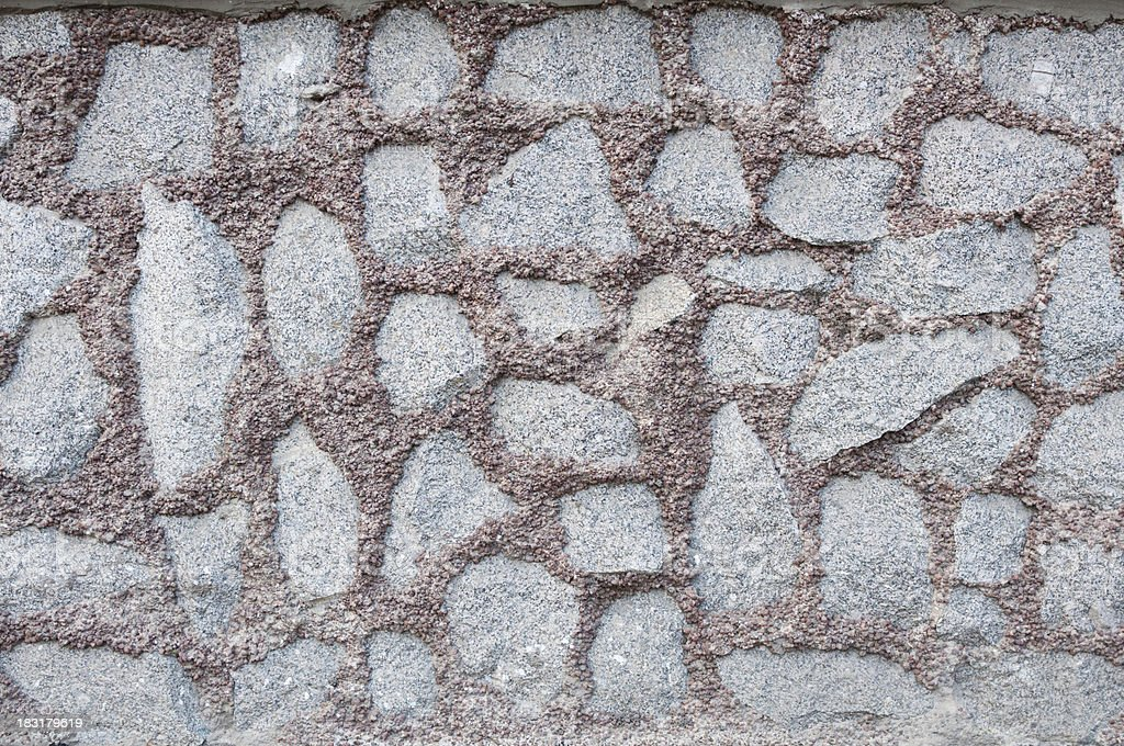 Texture wall with granite royalty-free stock photo