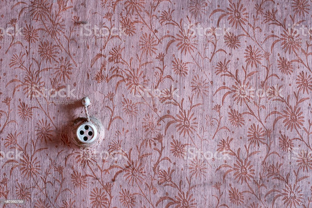 Texture walls of abandoned houses stock photo