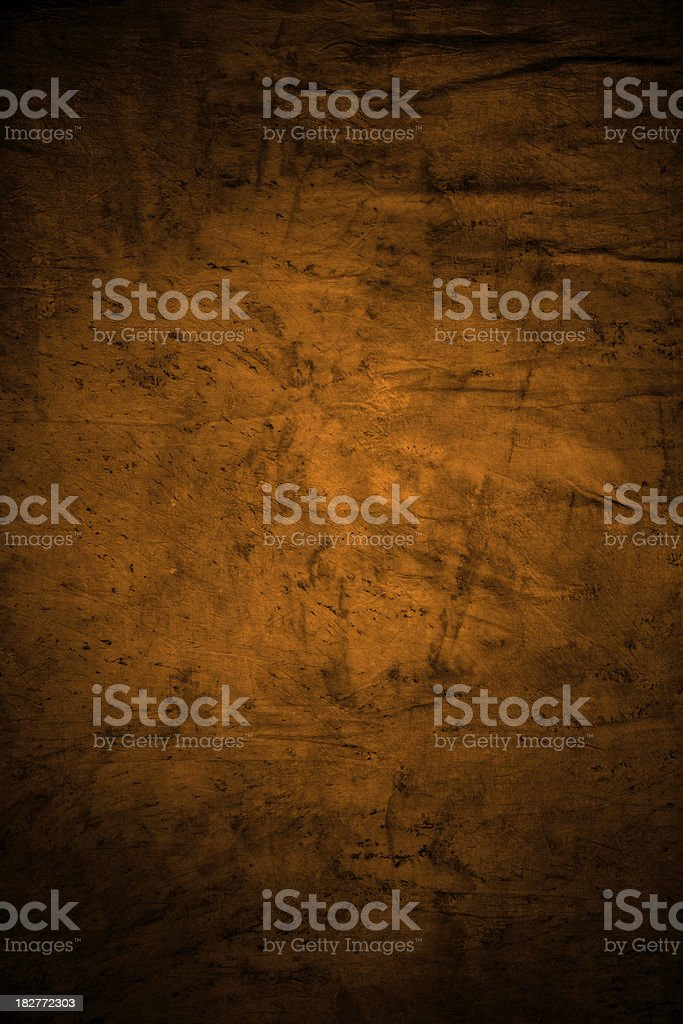 Textured Background In Orange royalty-free stock photo