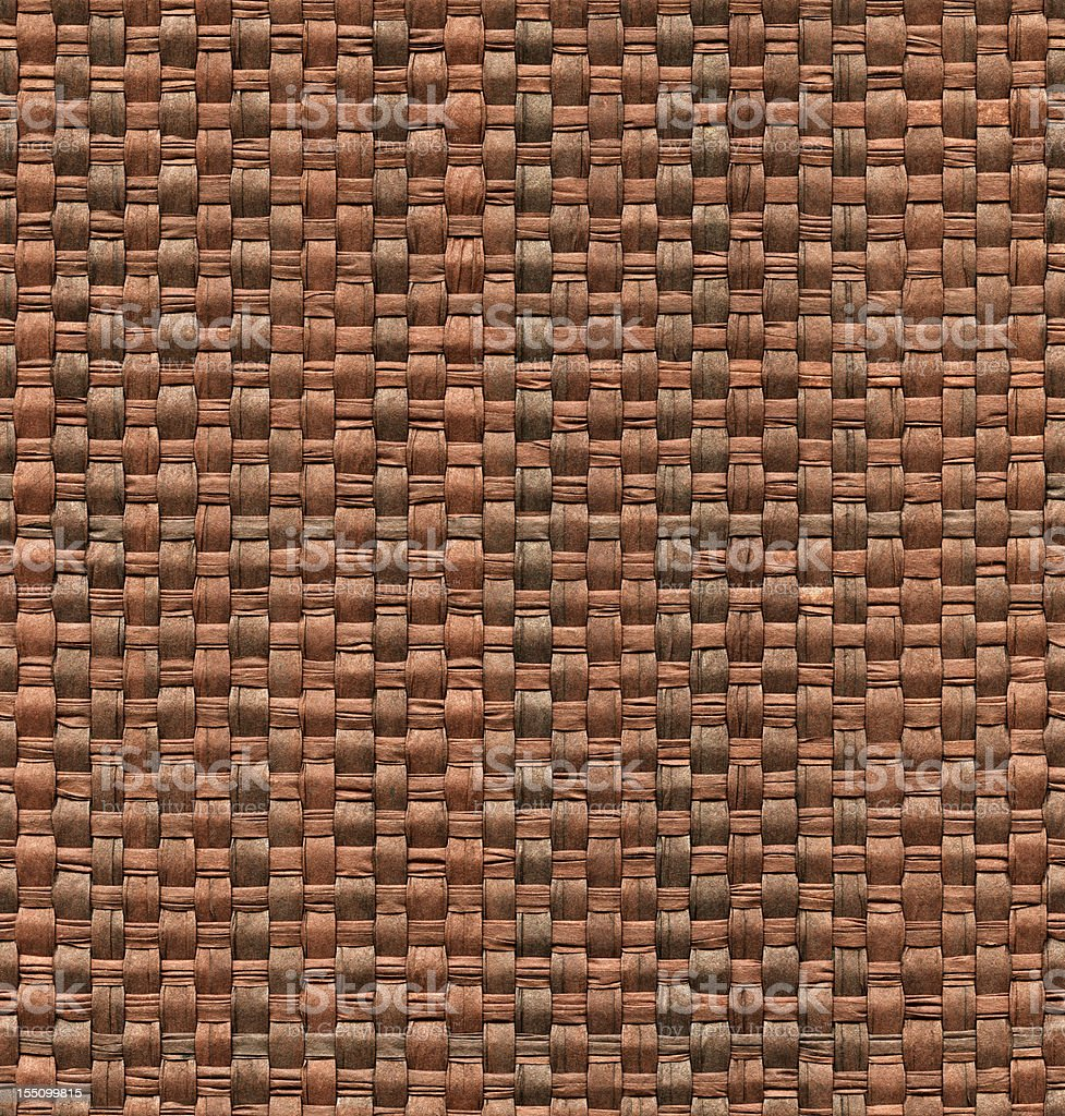 Textured background of seamless wicker stock photo