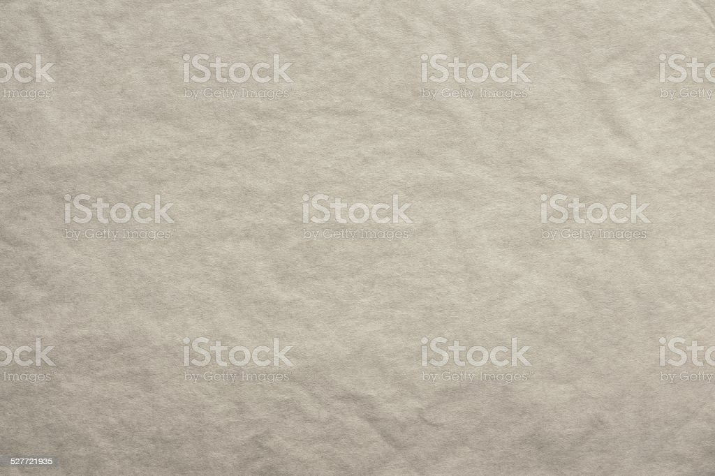 textured blank crumpled paper of beige color stock photo
