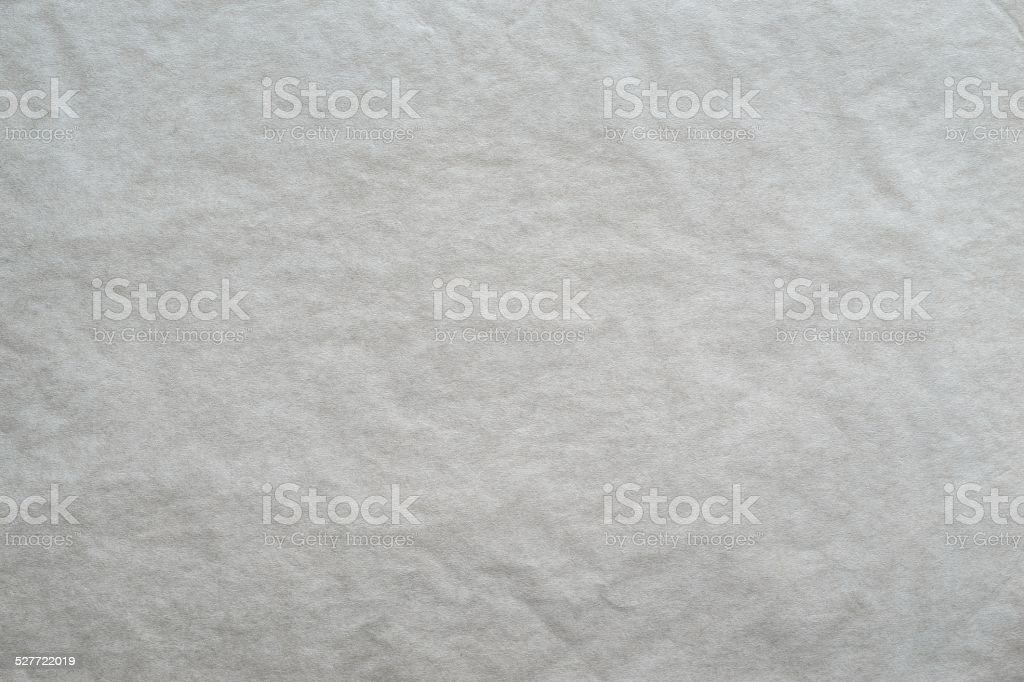 textured blank crumpled paper of light gray color stock photo