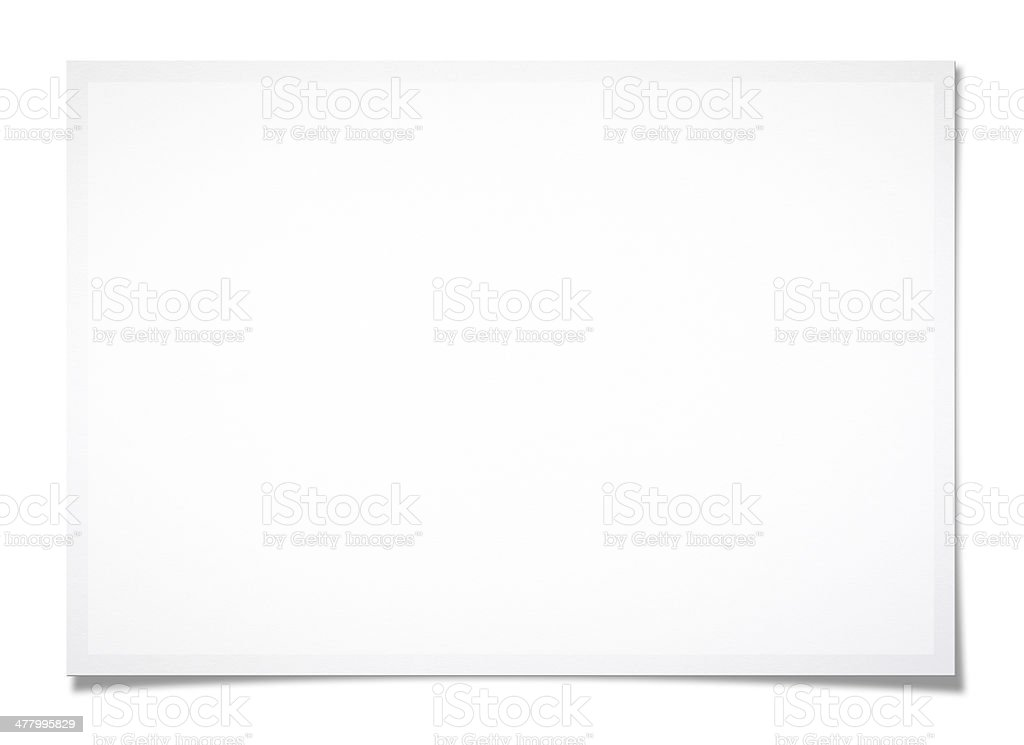 Textured blank photo stock photo