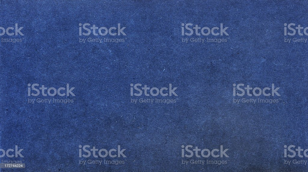 Textured Blue Paper royalty-free stock photo