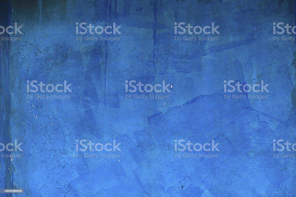 Textured Blue Wall Java stock photo