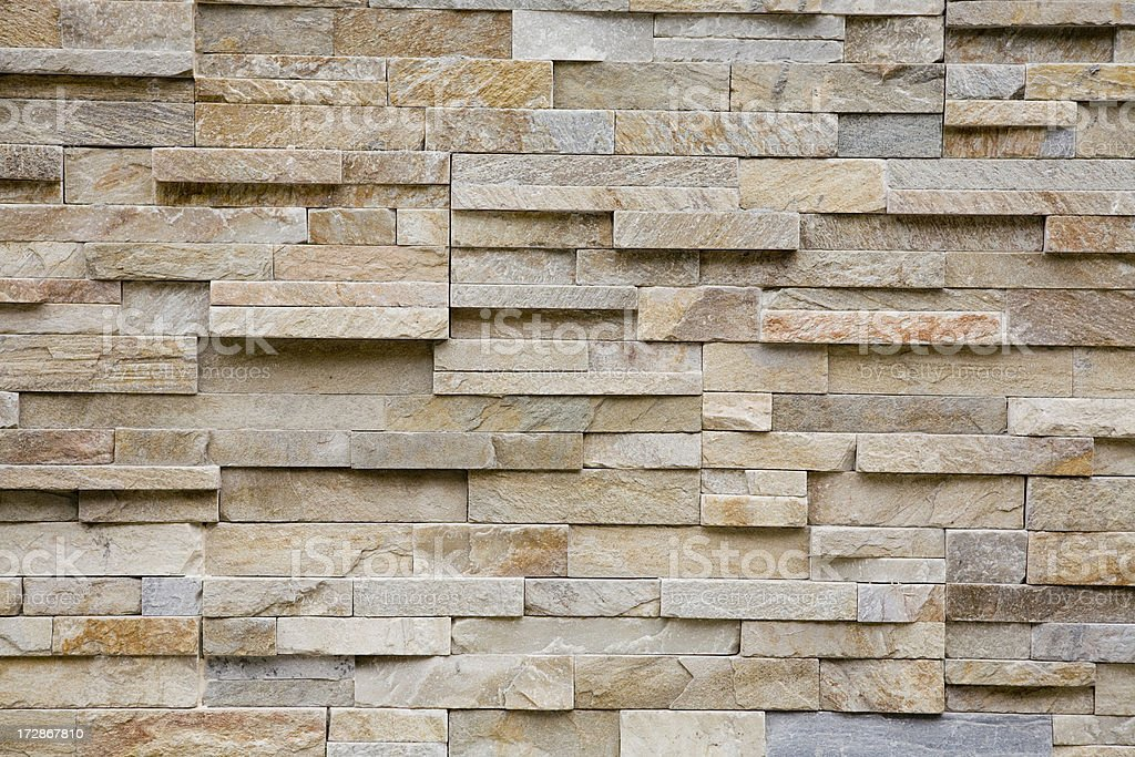 Textured brick stone wall stock photo
