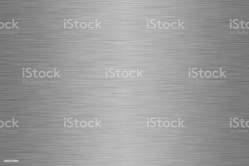 Textured brushed steel background stock photo
