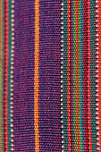 Textured colorful fabric