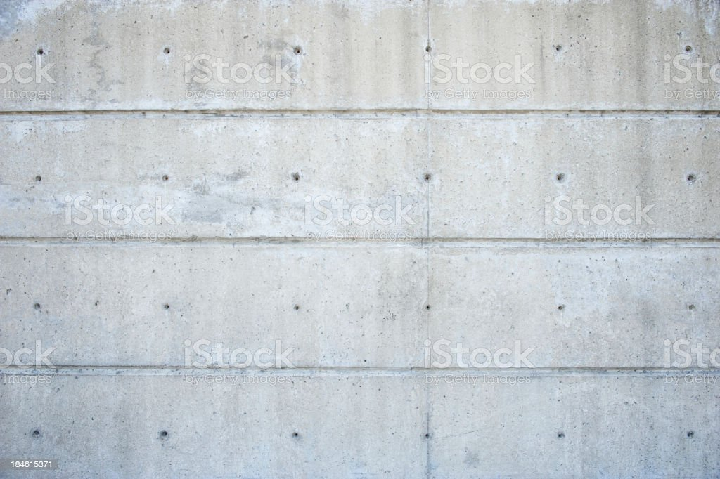 Textured Concrete Background Full Frame Construction Plugs royalty-free stock photo