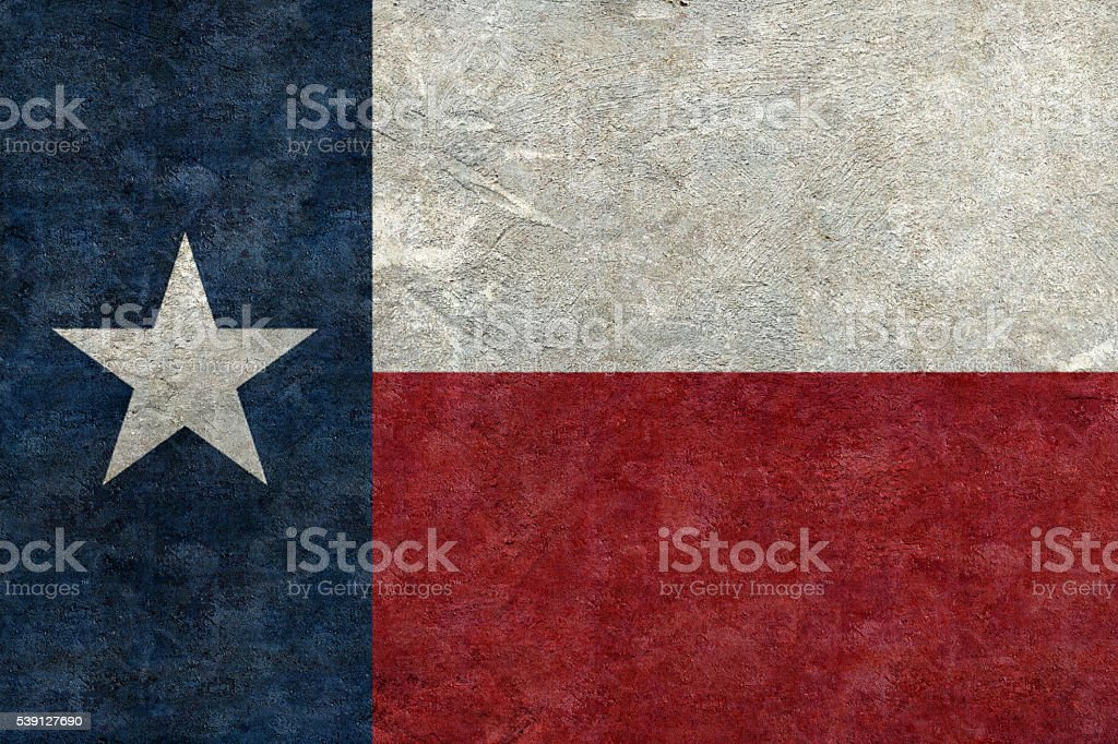 Textured flag of Texas as a background stock photo