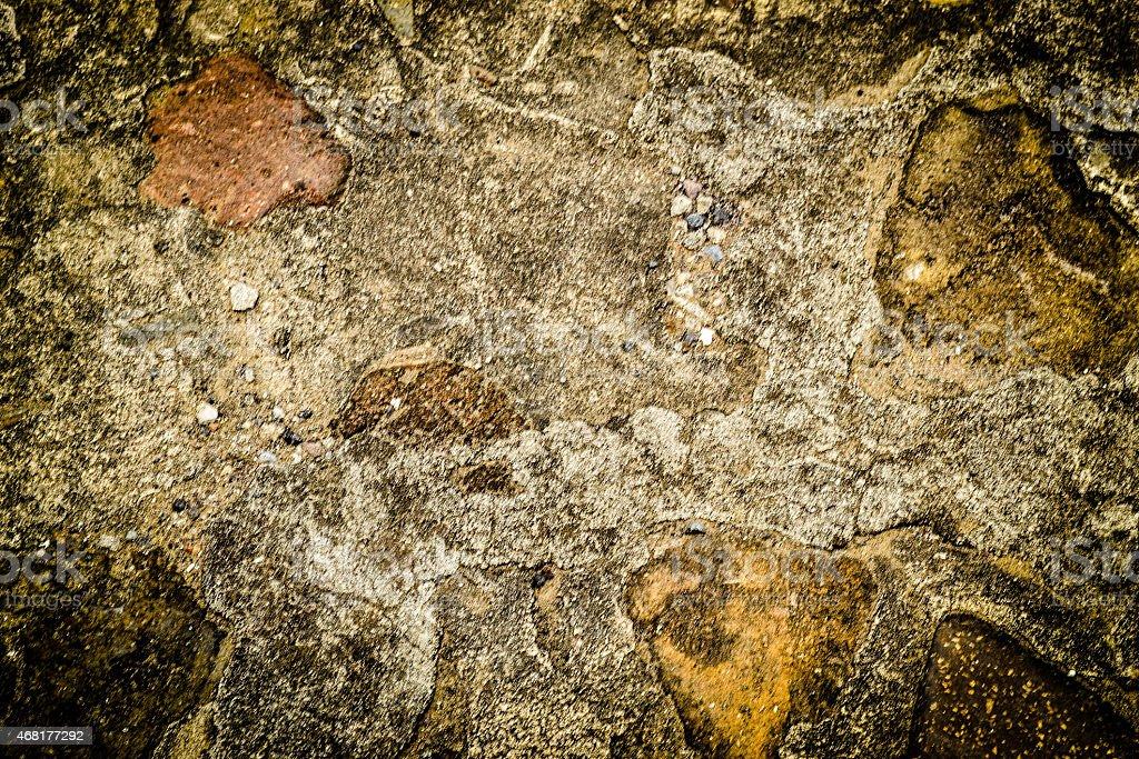 Textured floor and brick pavement stock photo