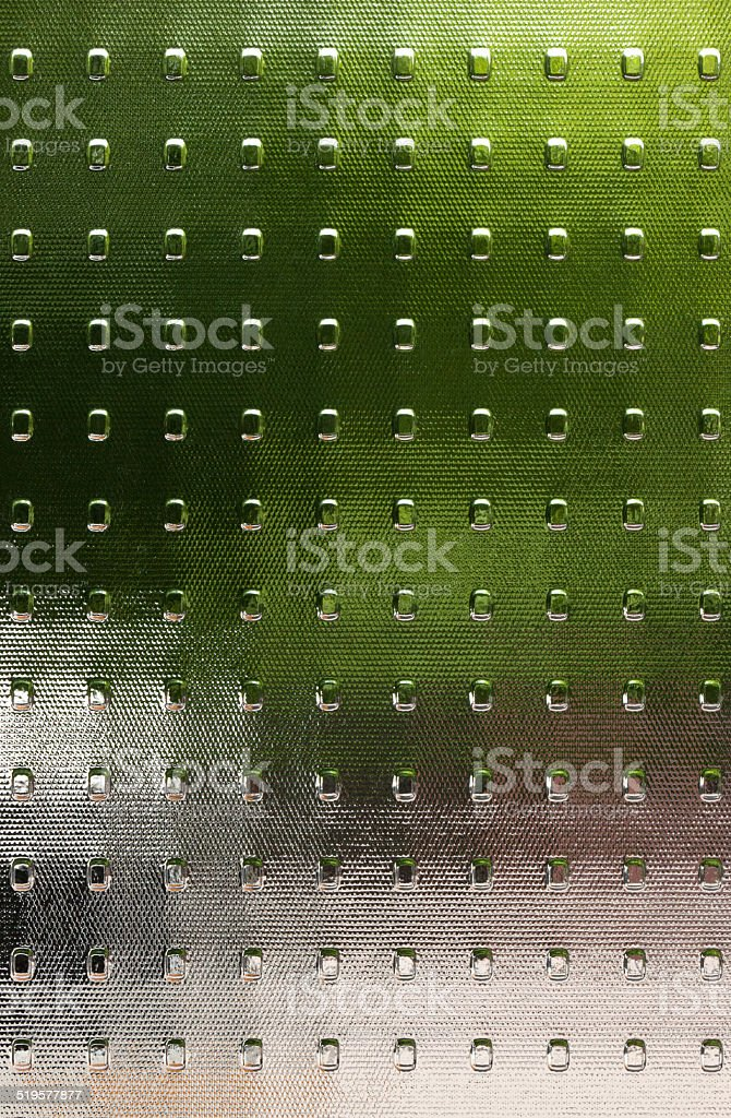 Textured glass with translucent color fields royalty-free stock photo