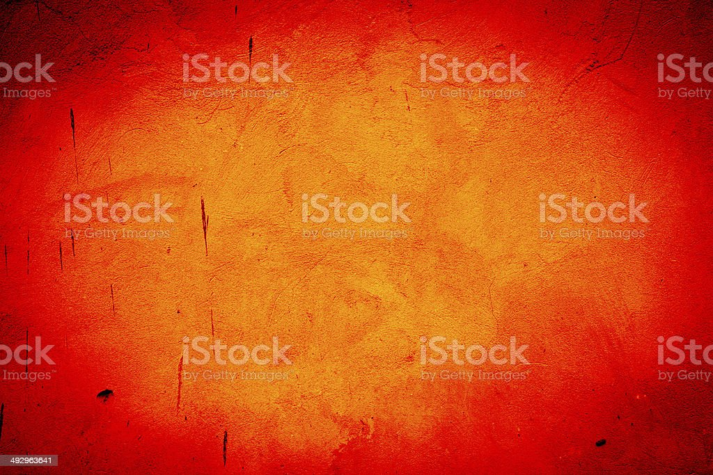 Textured grunge fiery background stock photo