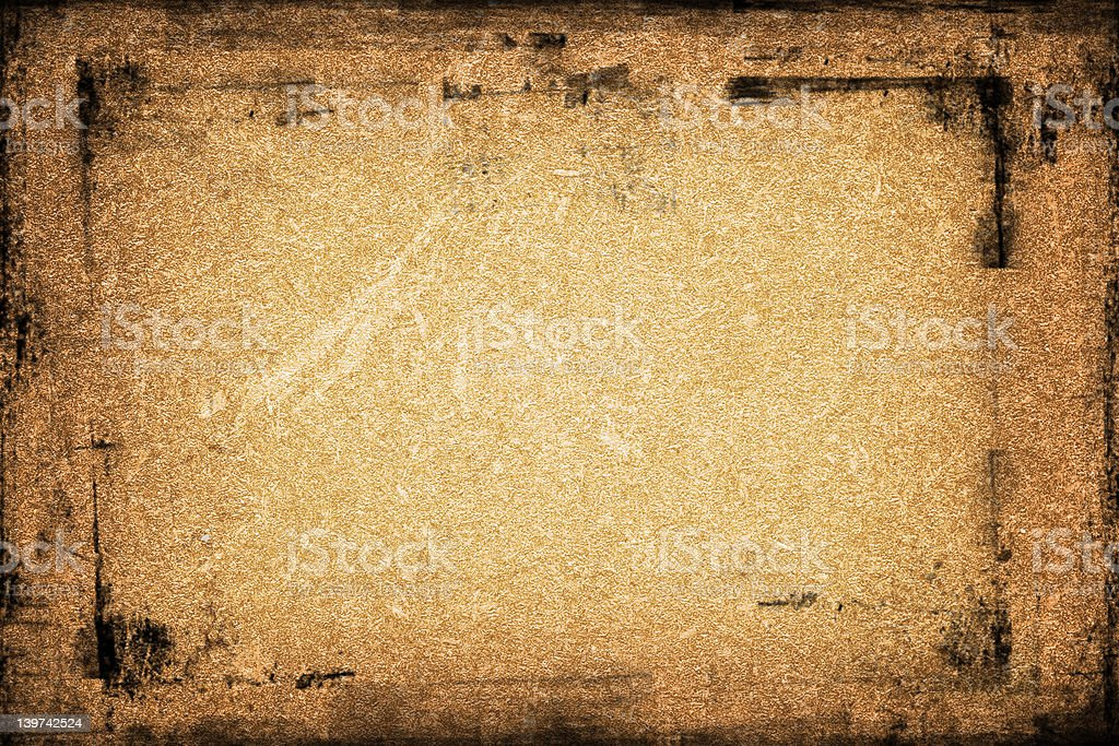 Textured Grunge Frame royalty-free stock photo