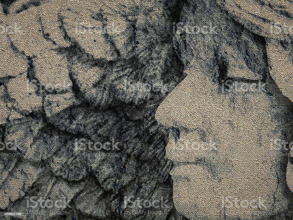 Textured Grunge Sleeping Angel stock photo
