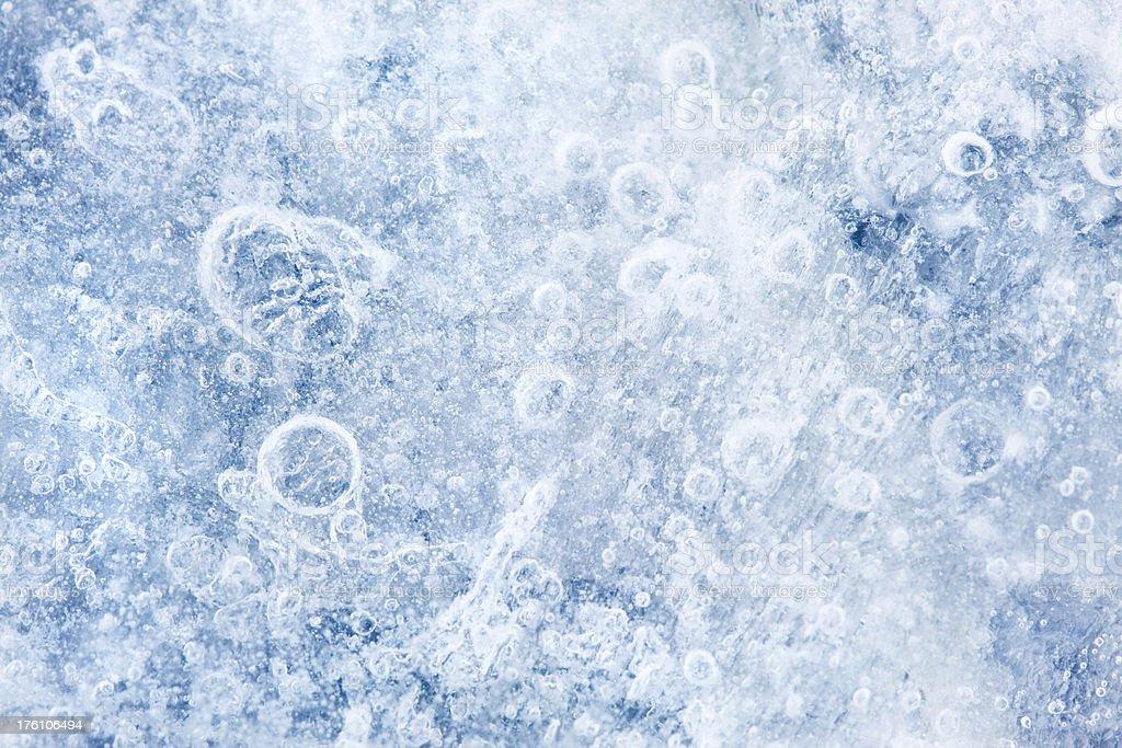 Textured Ice royalty-free stock photo
