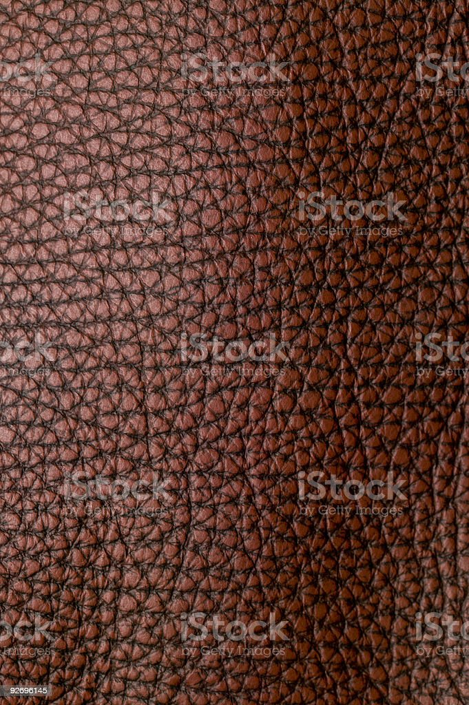 Textured Leather stock photo