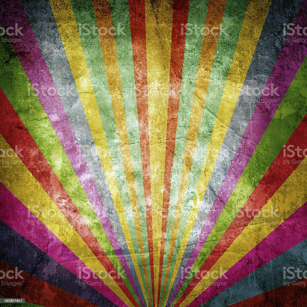 Textured multicolor ray background graphic stock photo