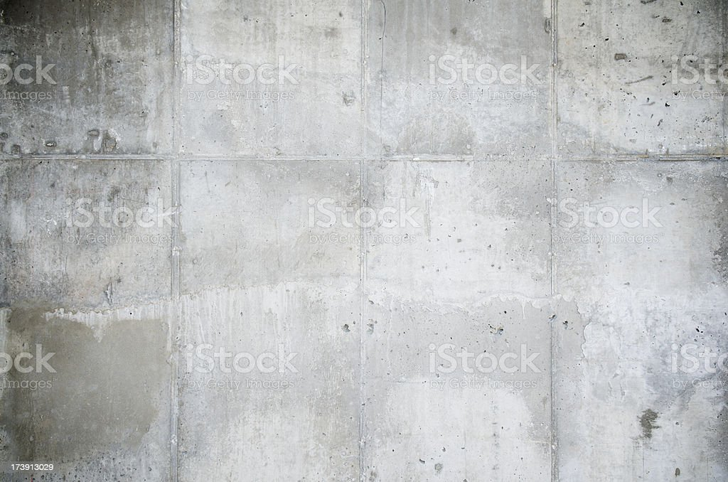 Textured New Gray Concrete Wall Slabs Background Abstract royalty-free stock photo
