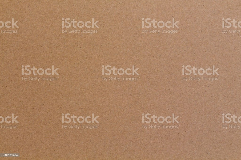 Textured Paper ,Flat brown cardboard background texture stock photo