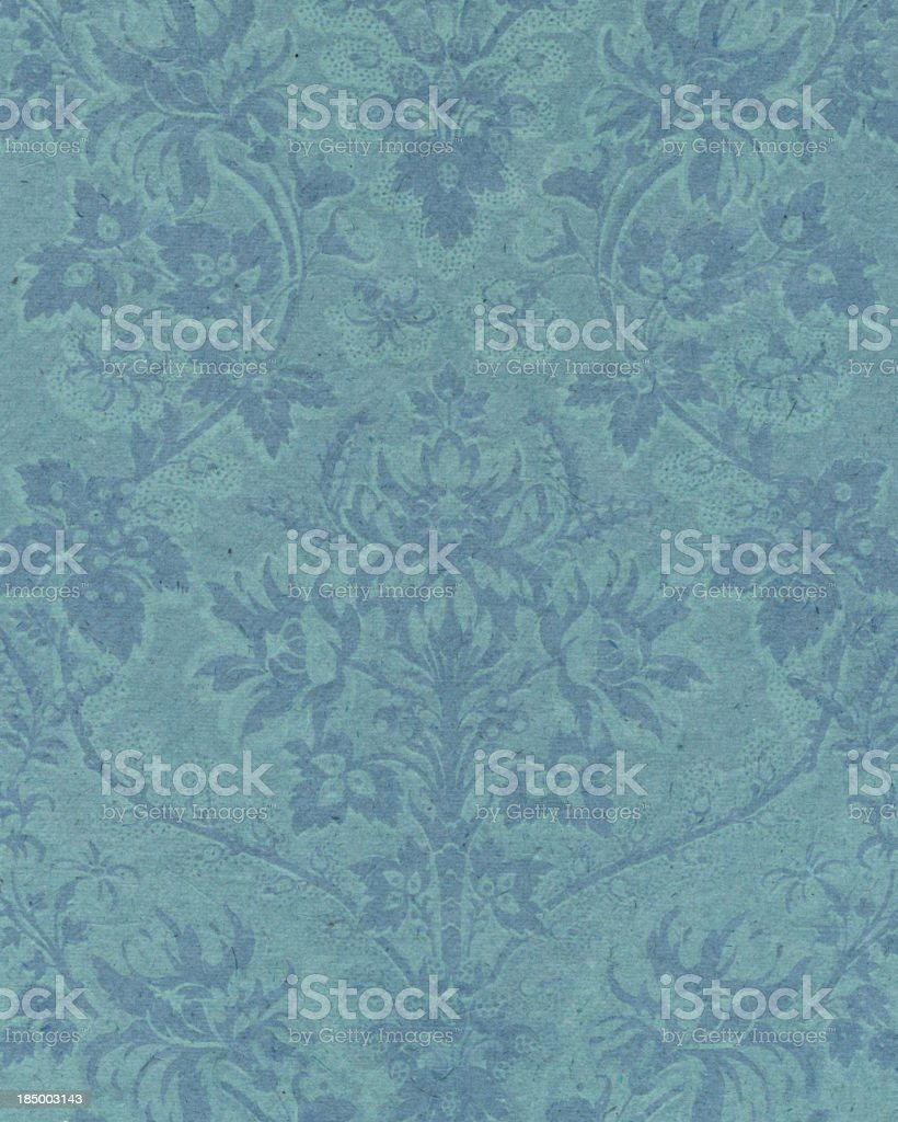 textured paper with antique ornament royalty-free stock vector art
