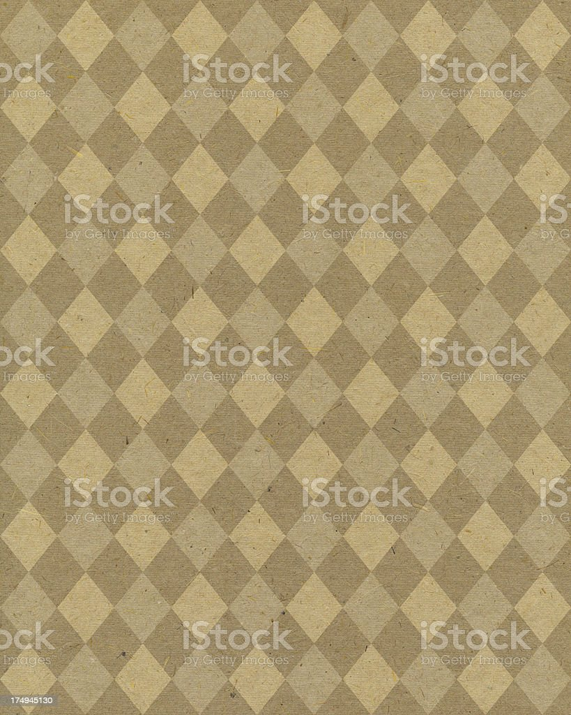 textured paper with diamond pattern royalty-free stock photo
